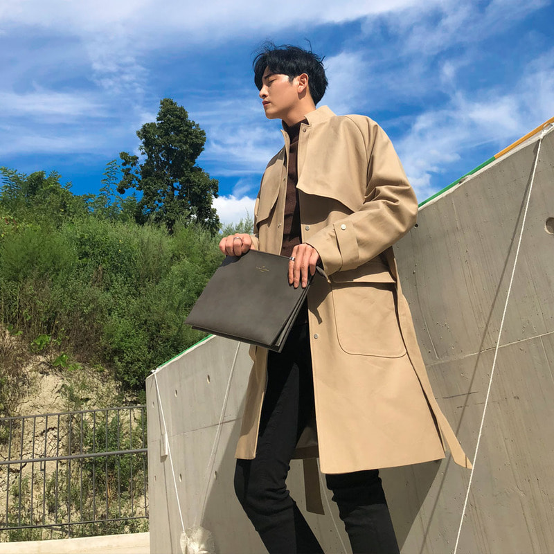 MLK Tobi Trench Coat_O681