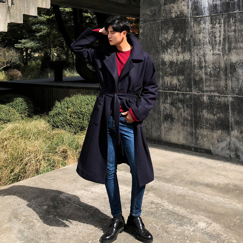 MN RANGE ROBE LONG  COAT_O710