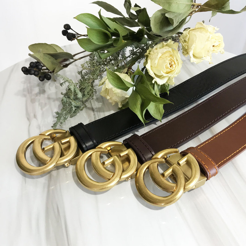 #GG Double Goid Metal Belt_A124 (3Color)
