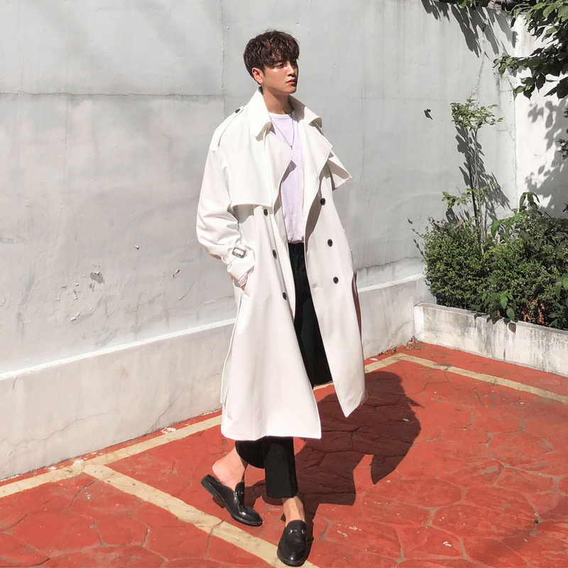 #자체제작 Real Trench Coat_O651
