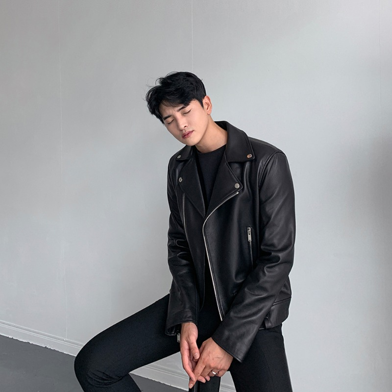 BLW (Real Leather) 프로 라이더 자켓